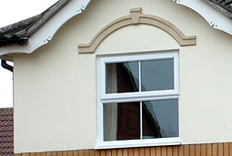 Standard PVCu casement windows