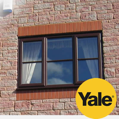 PVCu casement windows