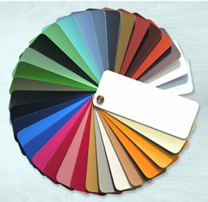 RAL colour chart for PVCu windows