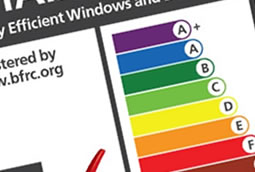 A+ to c rated energy windows