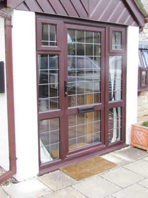 lead entrance door
