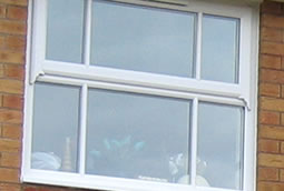 Mock sash horn windows in PVCu