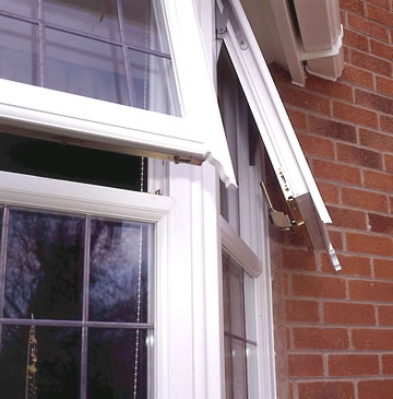 Mock horn window PVCu
