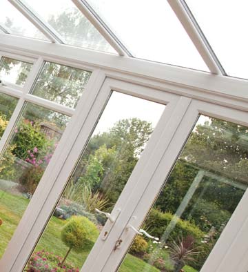 PVCu conservatory with duraflex windows and doors
