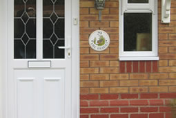 PVCu residential entrance doors