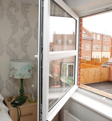 PVCu tilt and turn windows