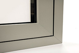 Flush sash window frame