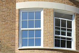 Vertical sliding sash window